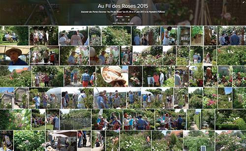 Au Fil des Roses 2015 à la Pépinière FilRoses